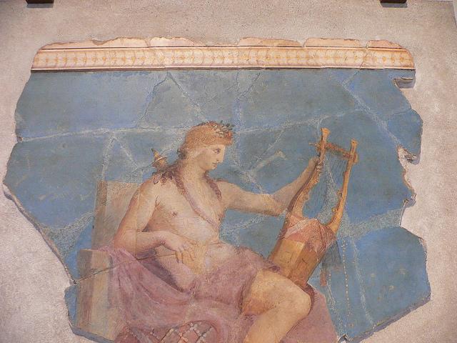 Fresco of Apollo