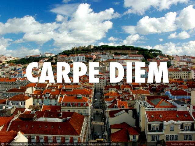 Carpe Diem slide